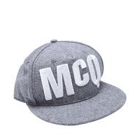 MCQ麦寇纯棉材质LOGO样式男士帽子 支持礼品卡支付