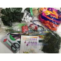 丝袜花套装 可做60-80朵 丝袜花丝网花套餐DIY手工丝网花材料套装新手材料包玫瑰