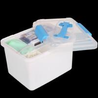 便携式小钓箱 二层设计路亚盒钓鱼箱工具盒工具箱小配件盒
