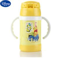 迪士尼小学生宝宝保温杯女婴儿杯儿童壶创意便携水杯带吸管迷你DC-2926