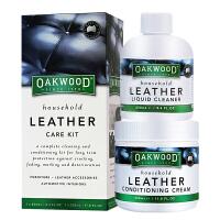 澳大利亚OAKWOOD皮革清洁护理套装 真皮清洁剂 皮革保养膏