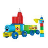 小翰童磁力片积木大颗粒拼插磁力块DIY益智启蒙动手玩具A2-1028