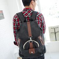 吉野新款男包包双肩包男士韩版背包学生书包潮男学院背包旅行包休闲男包包4113