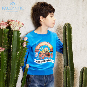 派克兰帝Paclantic 男童针织圆领套头卫衣