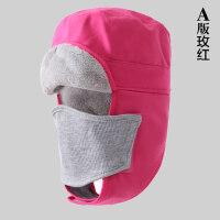 自行车骑行帽子防寒抓绒帽cs面罩防风口罩护脸头套户外雷锋帽