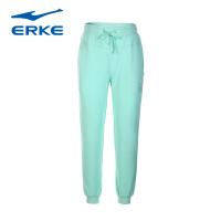 鸿星尔克女装 erke 女运动长裤 新款透气针织长裤运动裤