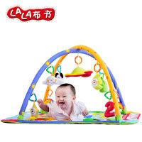 Lalababy/拉拉布书婴儿健身架游戏毯玩具垫宝宝玩具 我爱野生动物