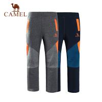 camel骆驼户外童装 儿童休闲针织裤青少年男女童裤装
