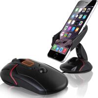 通用手机支架 苹果 安卓 小米 华为 荣耀 红米 魅族 三星 HTC iphone6/6S 6splus 5/5S/SE 桌面 车载手机支架 汽  车用手机支架 风口吸盘式仪表台架子 创意鼠标导航支架