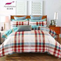 [当当自营]维众家纺床品全棉双人四件套200*230cm温馨阁 1.5米1.8米通用