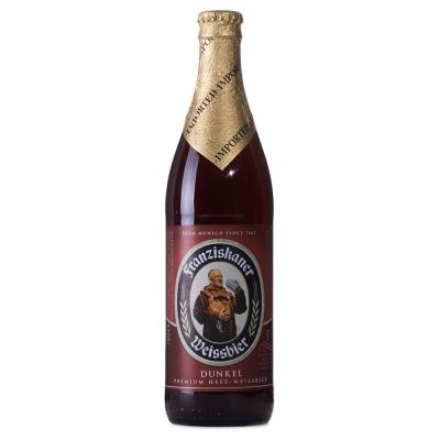 【春播】德国教士黑啤酒瓶装500ml独特黑色云雾泡沫