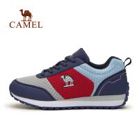 【热款直降】camel骆驼户外儿童休闲鞋 青少年减震耐磨系带运动鞋