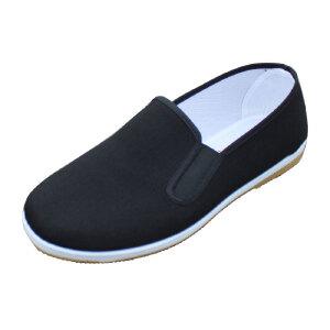欣清 新款老北京布鞋千层底休闲鞋单鞋双层牛筋底 耐磨防滑男鞋子