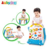 澳贝幼儿电子多功能学习桌奥贝宝宝学步车婴儿童游戏玩具台