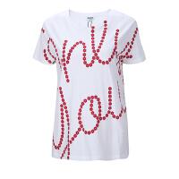 KENZO纯棉花朵印花女士短袖T恤 支持礼品卡支付