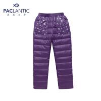 派克兰帝童装 女童时尚羽绒裤儿童冬季厚裤子