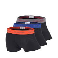 CALVIN KLEIN/卡尔文・克莱因 CK男士三条装平角内裤Q1401NYCKM01 支持礼品卡支付