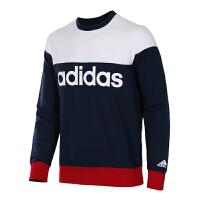 adidas阿迪达斯男子16冬新款运动休闲卫衣圆领套头AZ8347  AZ8348