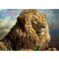 【森林之王】动物狮子 木质300/500/1000/1500片拼图