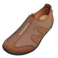 欣清老北京日常休闲布凉鞋鞋 透气洞洞平跟妈妈鞋 帆布鞋女单鞋