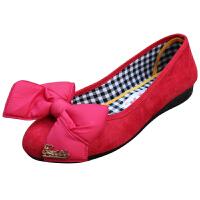 欣清 新款女式老北京布鞋女鞋女单鞋 平跟休闲鞋浅口帆布鞋女