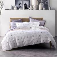 优雅100 新款纯棉四件套 斜纹环保印花全棉床上用品四件套 1.5床-1.8床值得拥有