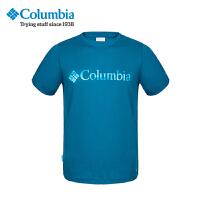 【限时秒杀129元】Columbia哥伦比亚男士户外速干透气排汗圆领短袖T恤