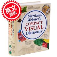 [现货]英文原版Merriam-Webster Compact Visual韦氏简明图解词典
