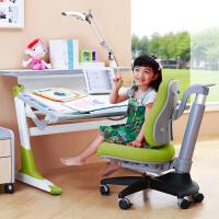 台湾进口康朴乐儿童学习桌椅套装 贵族桌+MATCH椅 可升降 学习桌