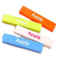 糖果色 apple 简约 铅笔盒 迷你单层文具盒 塑料笔盒