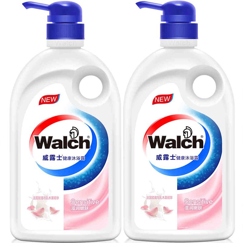 威露士消椹����#�.b9�*_walch/威露士 经典沐浴露 600mlx2瓶 沐浴肌肤 水润保湿