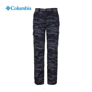 【领卷满400减100】Columbia哥伦比亚户外2017春夏新品男款户外迷彩休闲长裤AE8685