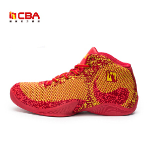CBA正品男子篮球鞋耐磨防滑飞织透气比赛篮球战靴水泥地外场内场篮球鞋