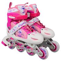 (领券立减30)ENPEX/乐士铝架闪光轮溜冰鞋 欢乐无限MS169