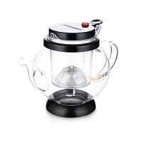 金灶TP-865飘逸杯茶道杯弹压玻璃玻璃泡茶壶茶具花茶杯650ml
