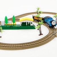 电动儿童男孩益智玩具托马斯轨道火车小火车套装轨道车玩具火车头