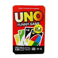 uno牌 uno铁盒UNO水晶版尤诺由诺优诺乌诺德诺牌