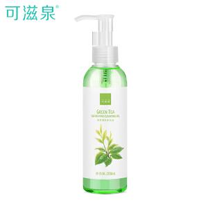 可滋泉 绿茶清新卸妆油200ml 温和深层清洁眼唇脸部卸妆