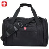 瑞士军刀SWISSGEAR旅行包单肩包男 时尚休闲旅行袋行李袋斜挎包手提包