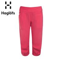 Haglofs火柴棍女款吸湿快干弹力休闲速干七分裤602600