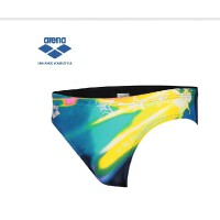 arena阿瑞娜 男士三角泳裤 6cm 丽星空舒适高弹3118