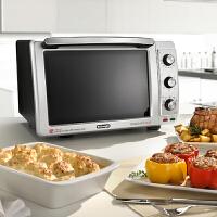 【当当自营】Delonghi/德龙 EO32852家用烘焙电烤箱大容量多功能蛋糕烤箱32L