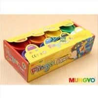 韩国原装进口MUNGYO盟友MFP-8色手指画 儿童手指画涂鸦颜料 无毒
