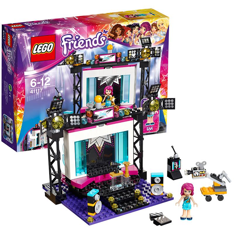 [当当自营]LEGO 乐高 好朋友系列 大歌星的电视工作室 积木拼插儿童益智玩具 41117【当当自营】2016年新品!适合6-12岁,194pcs小颗粒积木