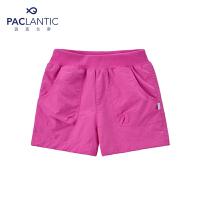 派克兰帝品牌童装  夏装女童徒步短裤 儿童短裤
