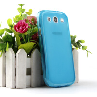 1件包邮  坚达 手机保护壳 布丁套透明软套 S3硅胶套 适用三星i9300/9308/i9302使用