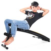 飞尔顿家用加长仰卧板多功能健腹机仰卧起坐拉绳哑铃凳健身器材体育用品