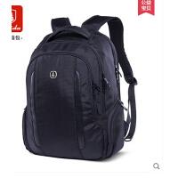 男英伦商务电脑包出差背包旅行包 学生书包 档休闲双肩包