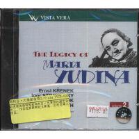 [现货]俄罗斯 Vista Vera唱片 玛利亚·尤季娜传奇2