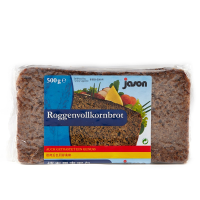 【春播】德国捷森黑麦面包500g